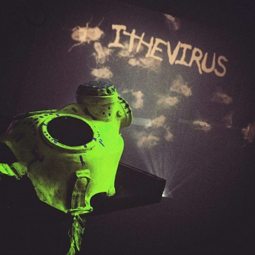 Electro industrial noise duo ItheVirus release first full length'The Human Filth Process'