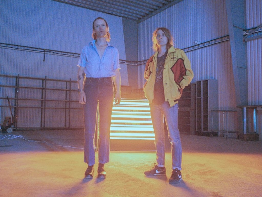 Swedish electronic duo Kite release new track'Bowie '95' produced together with Blanck Mass (Benjamin John Power from F-Buttons)