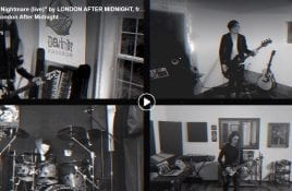 London After Midnight releases a series of live performance videos
