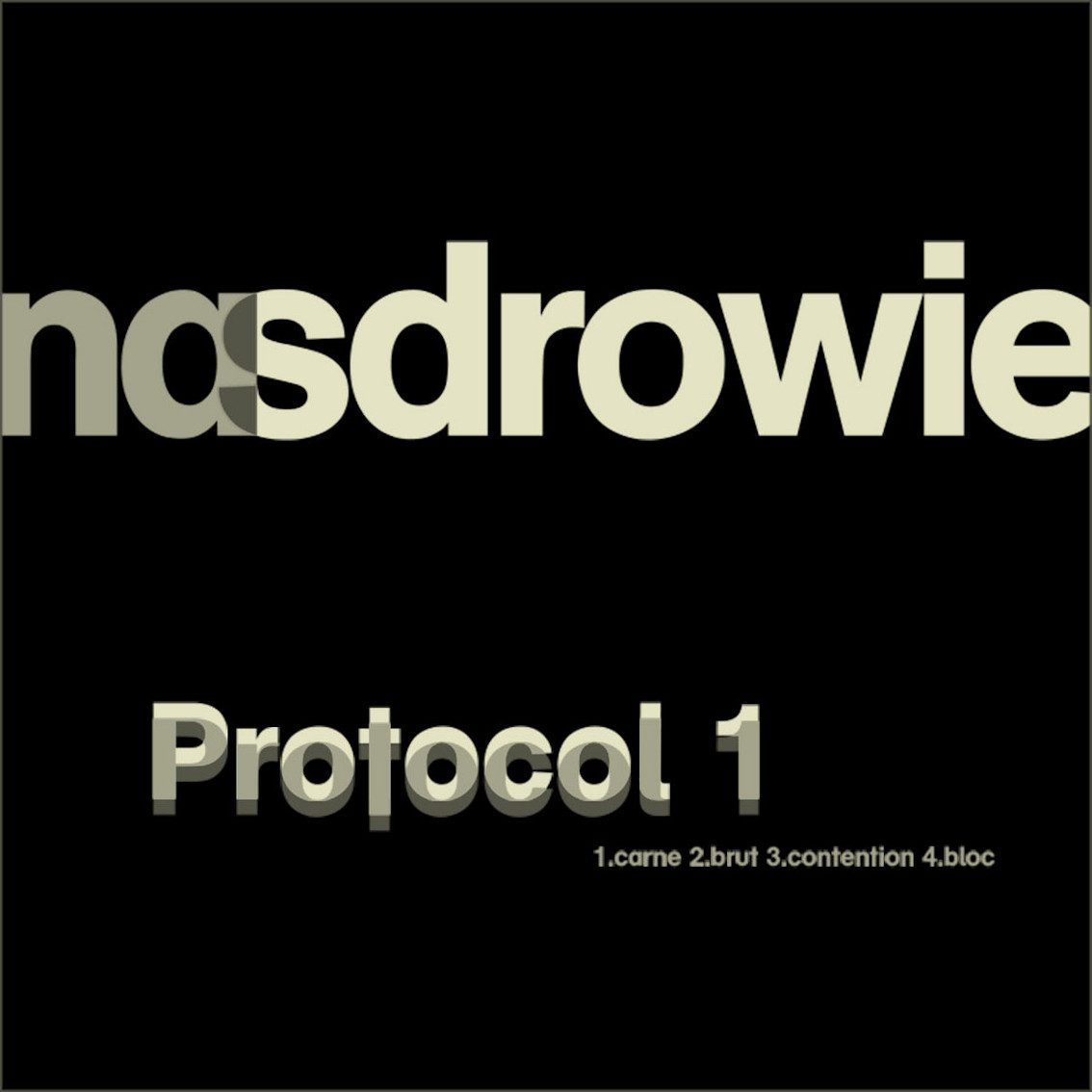 Nasdrowie debates with techno EBM EP 'Protocol 1' and it's excellent!