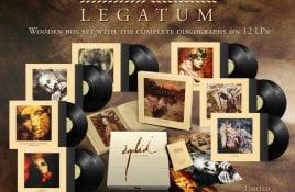 Entire Orplid backcatalogue compiled in 'Legatum' 12-LP wooden boxset