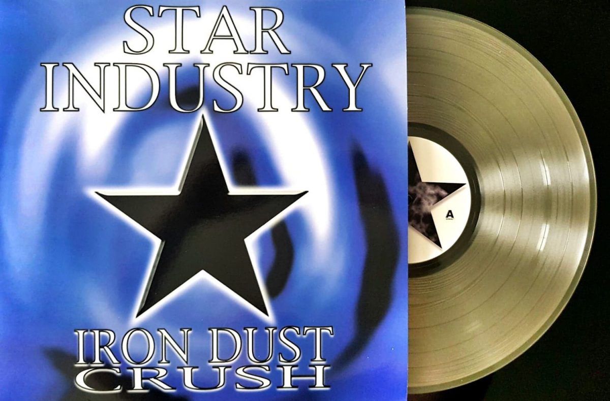 Goth rock act Star Industry reissues debut album 'Iron Dust Crush' on vinyl for the very first time