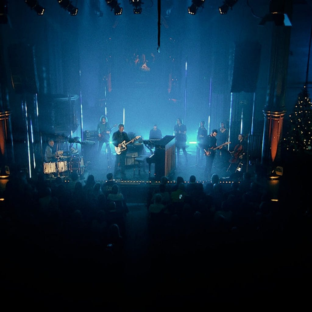 Magne Furuholmen (a-ha) launches live concert recording of'White Xmas Lies' on Saturday 26th December