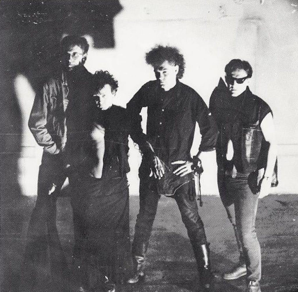 Swedish post-punk/goth pioneers The Bizarre Orkeztra re-release 1984 single'Land' in a remastered version