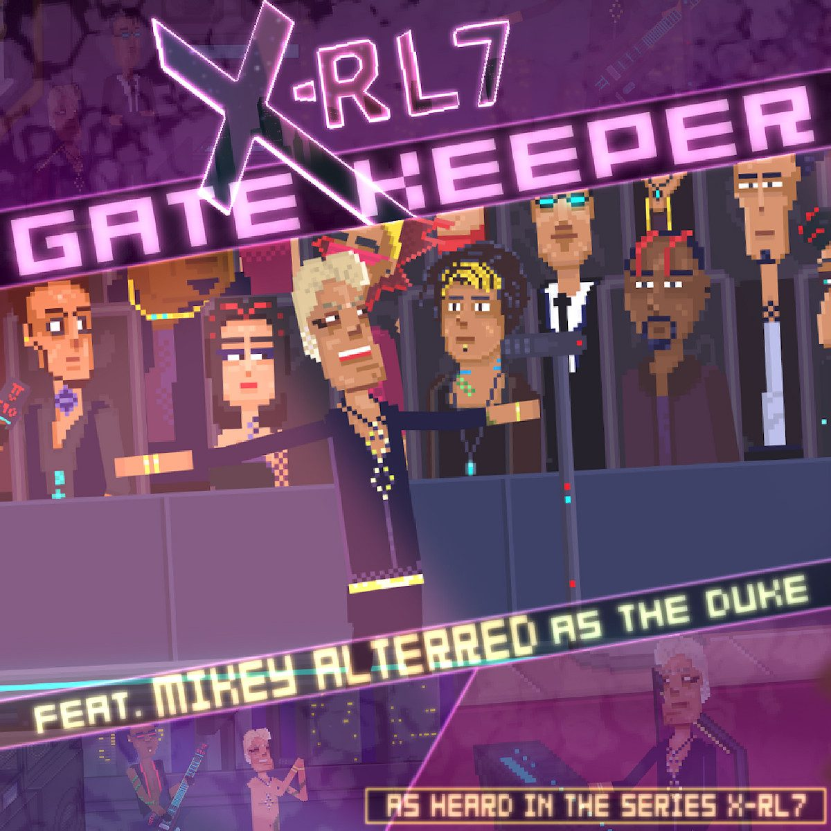 New episode (and EP) in X-RL7 animation series feat. SHIV-R, Amelia Arsenic, Aesthetic Perfection and more