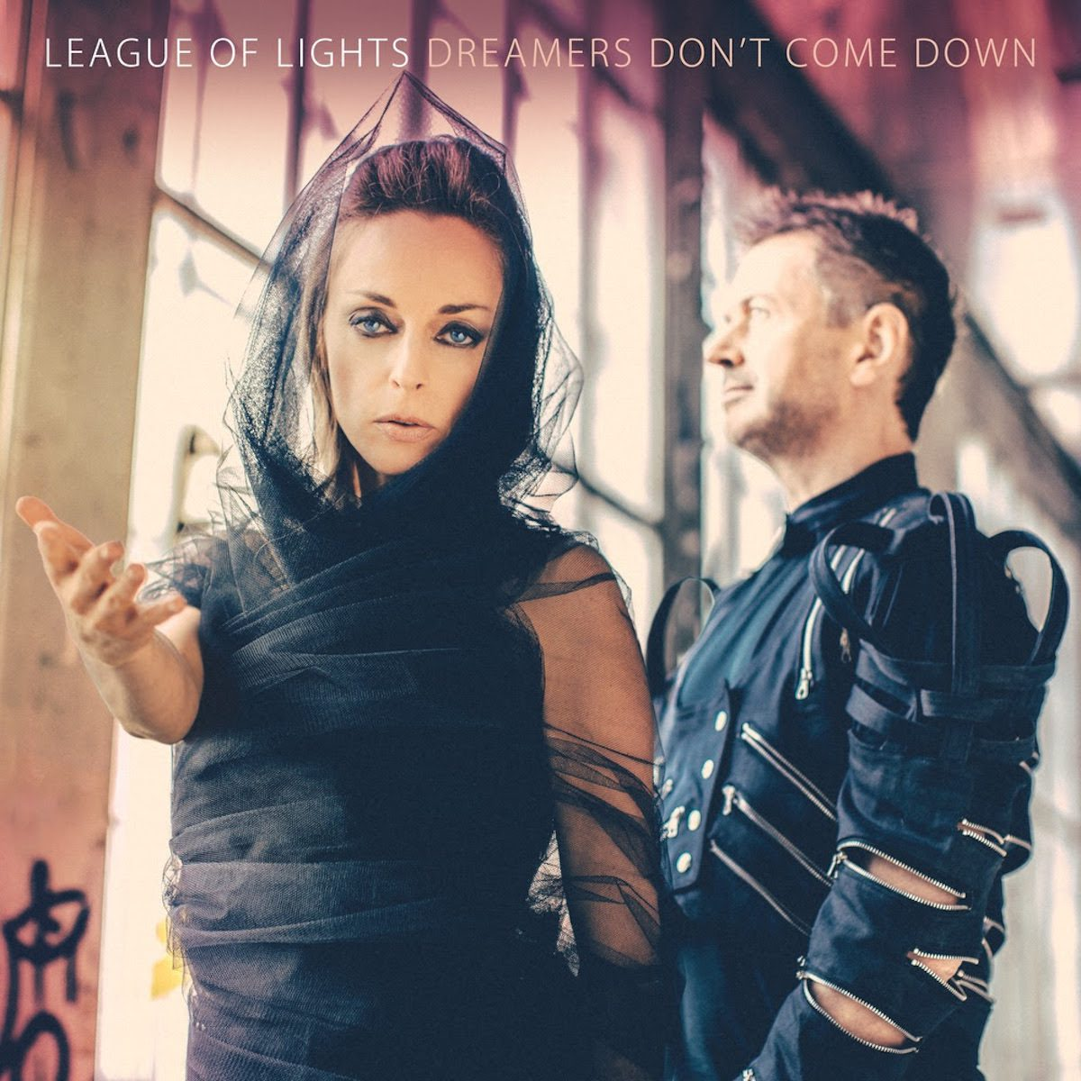 Electronic pop-rock duo League Of Lights release new single and video 'Modern Living' from the album 'Dreamers Don't Come Down'