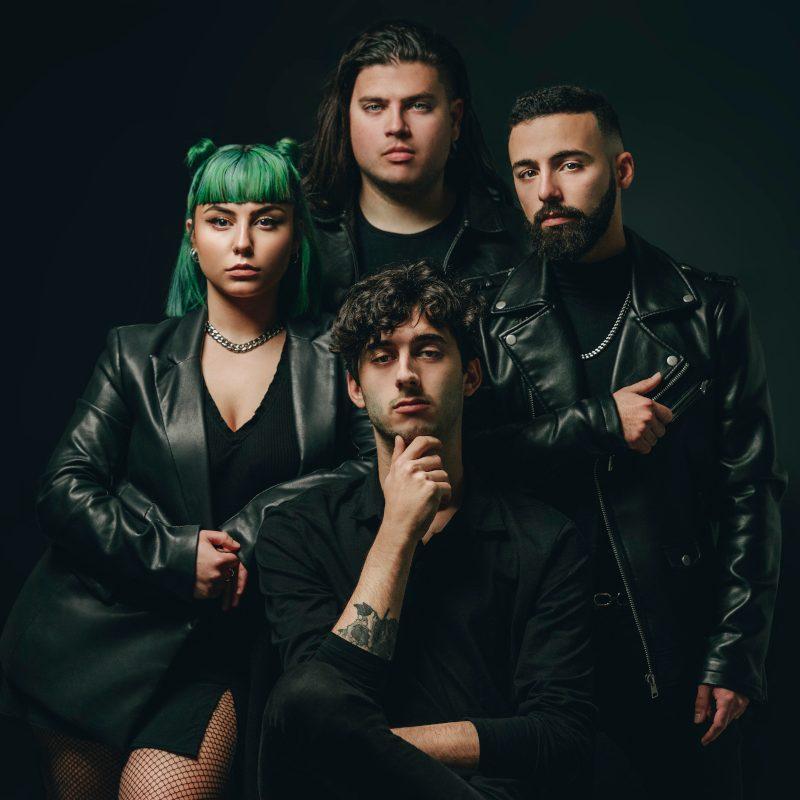 Maltese electropop quartet Oxygyn release their new single 'Mercy'