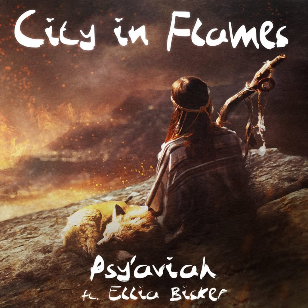 Belgian electropop act Psy'Aviah launches new single / video'City In Flames' taken from'Soul Searching' album