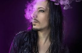 Wisborg releases new video and single 'I Believe In Nothing' - expect a mix of gothic rock and 80s neon aesthetics