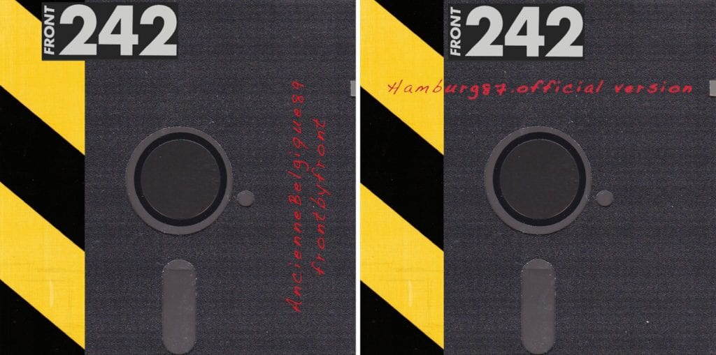New Front 242 live recordings officially become available from the 1987 and 1989 tours
