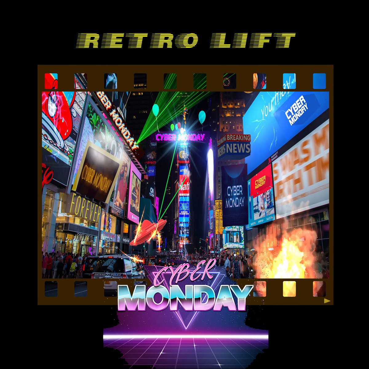 Synthwave project Cyber Monday launches brand new album 'Retro Lift' - check it out now