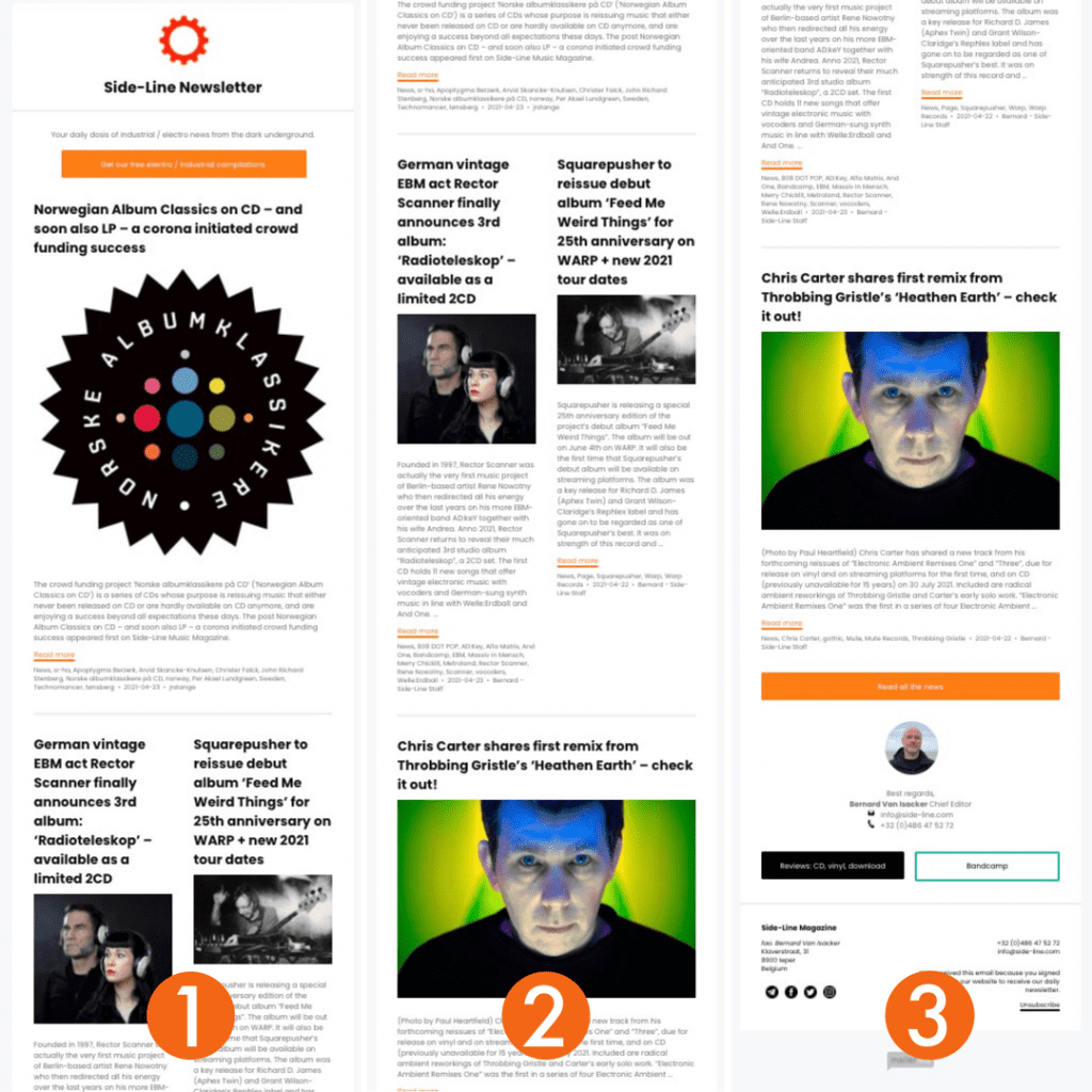 Side-Line revamps popular weekly newsletter and redesigns daily newsletter as well
