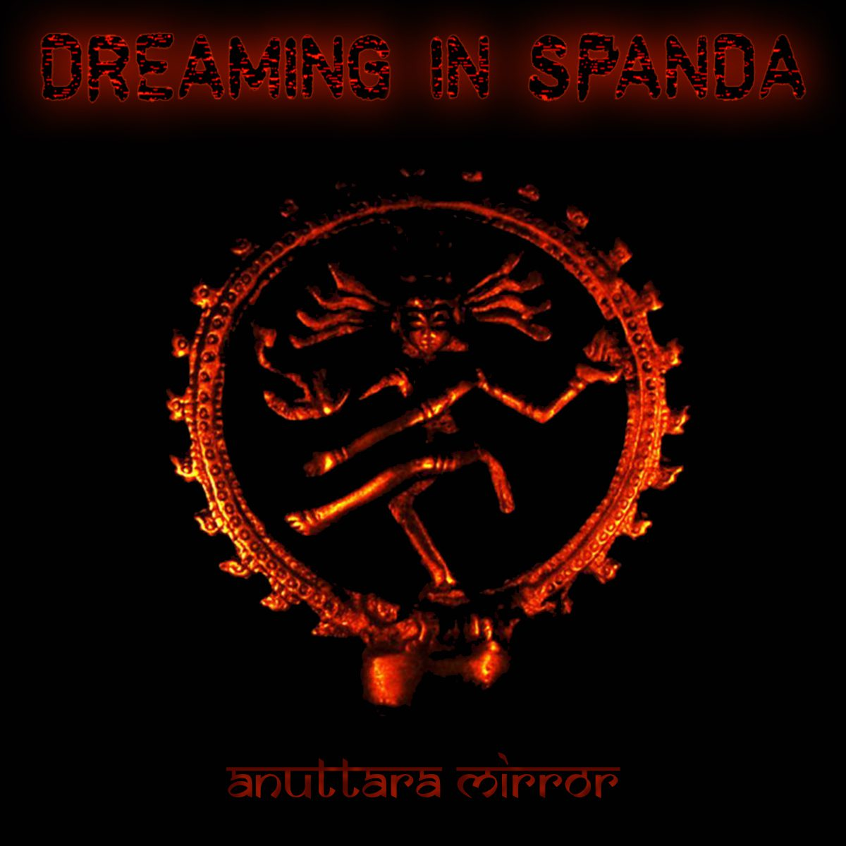 The German IDM industrial act Dreaming in Spanda is back with an all new EP, 'Anuttara Mirror'