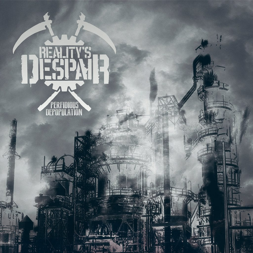 Belgian dark electro act Reality's Despair joins Insane Records and releases'Perfidious Depopulation' album