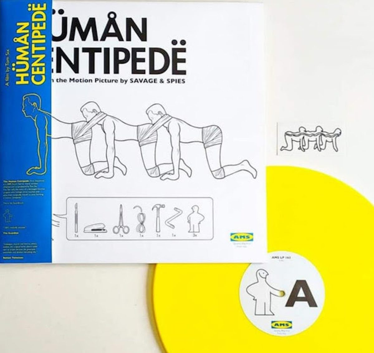 The Human Centipede OST by Savage & Spies released for the very first time