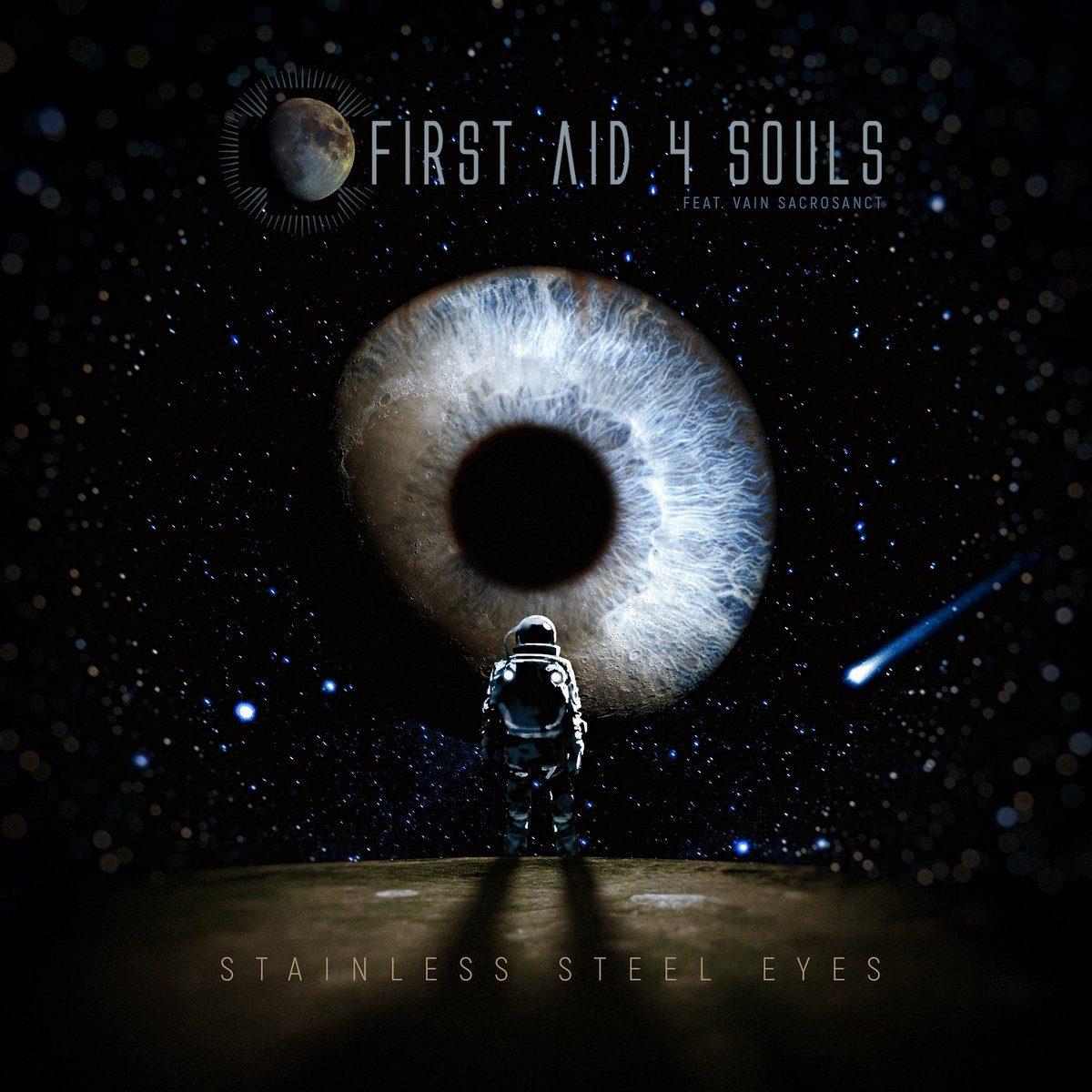 Dark electro act First Aid 4 Souls lands new album: 'Stainless Steel Eyes' feat. Causenation singer Vain Sacrosanct
