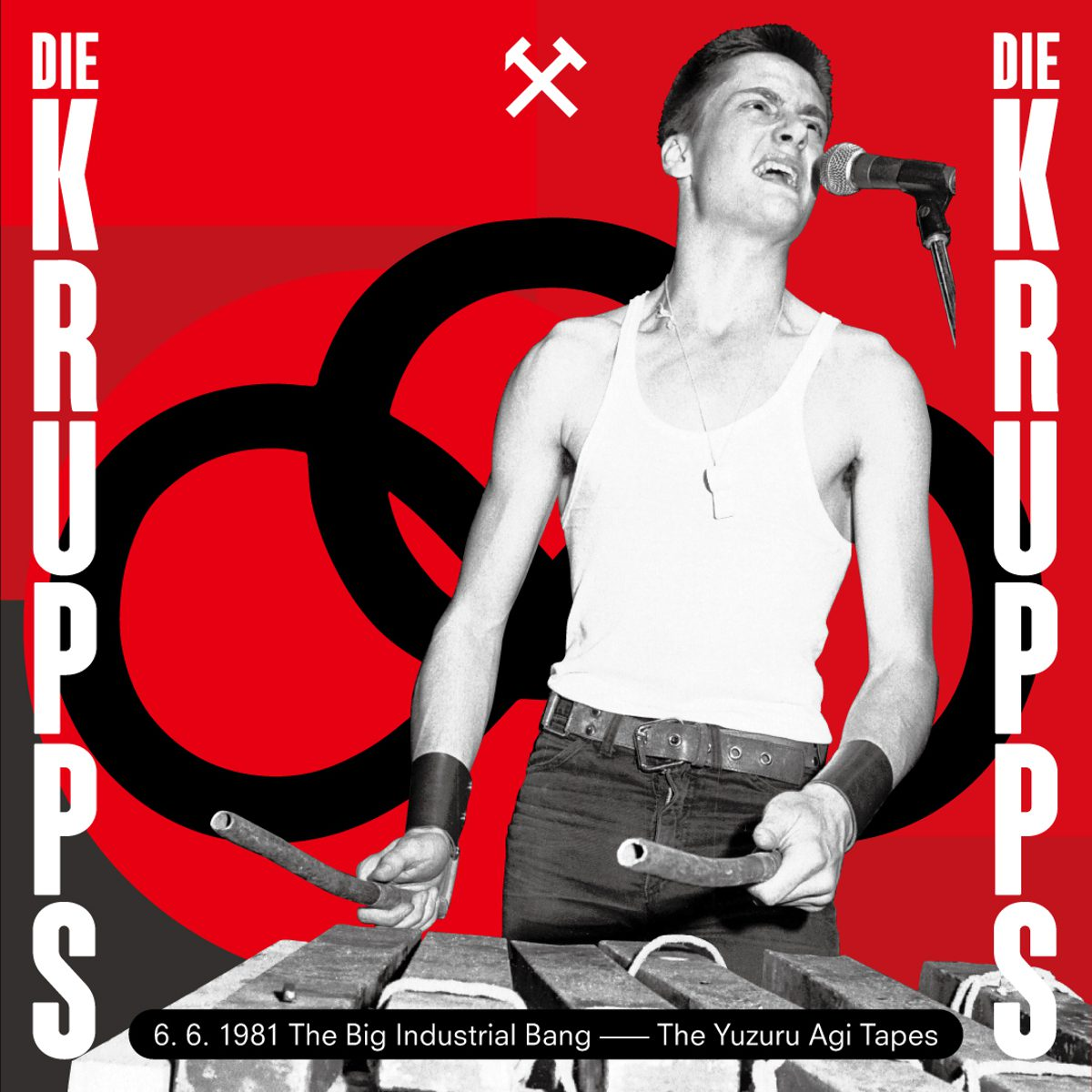 Die Krupps first 1981 live recording to be released as 'The Big Industrial Bang'