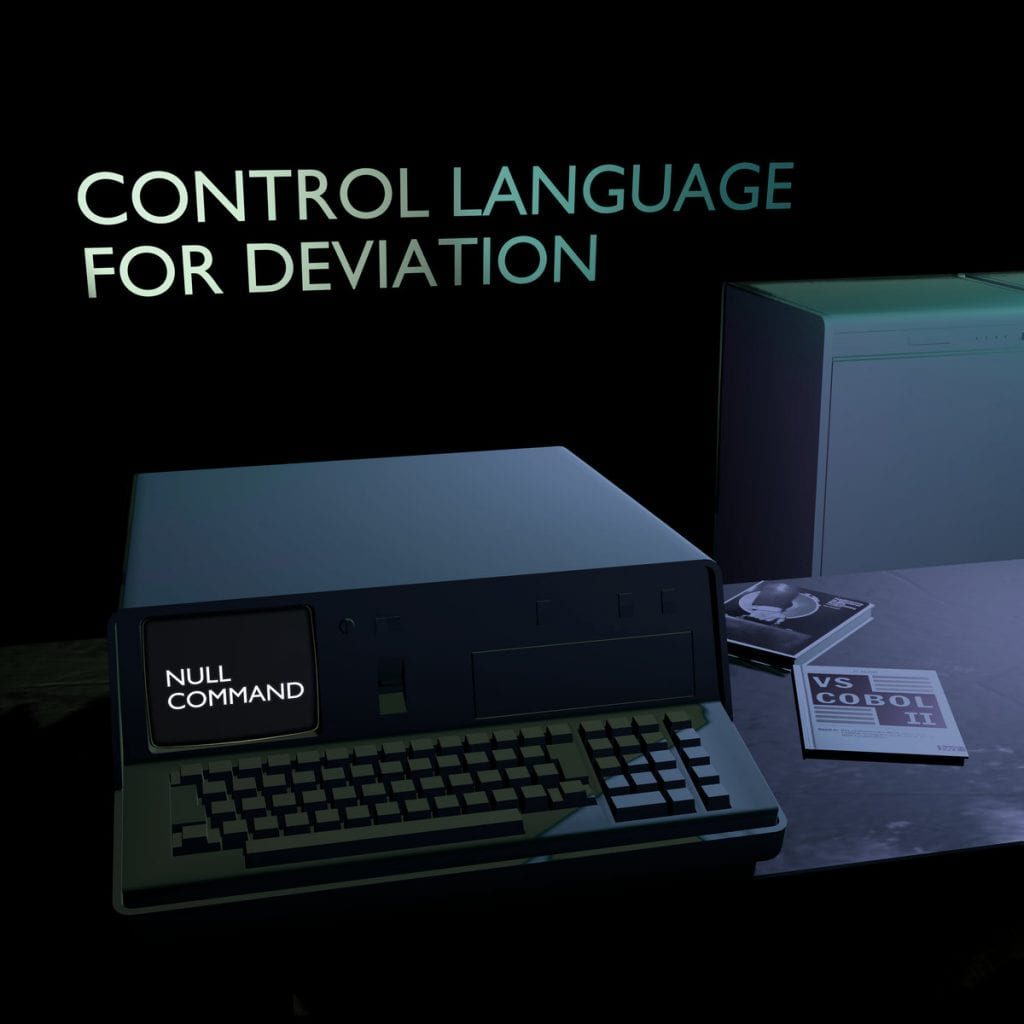 The Canadian a minimal synth / minimal wave act Null Command returns with brand new full length,'Control Language For Deviation'