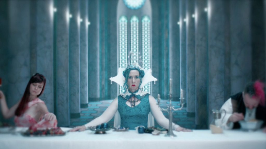 Exclusive première: Australian electro-medieval act Dandelion Wine release brand new video'Too Late She Cried' - and it's rather amazing !