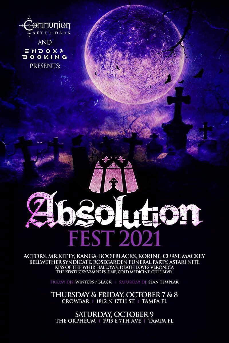 Absolution Fest announces dates and lineup for 2021 edition