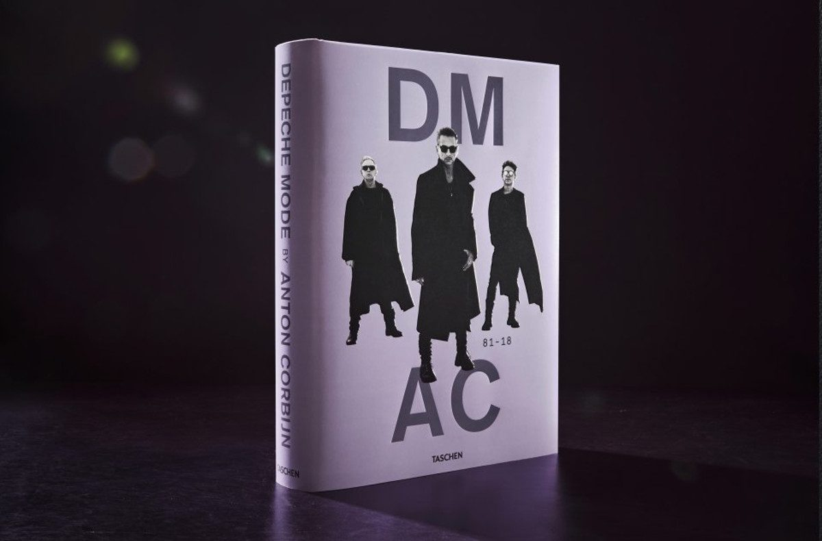 Out now and partially sold out: 'Depeche Mode by Anton Corbijn', the official illustrated history of Depeche Mode by Dutch artist Anton Corbijn