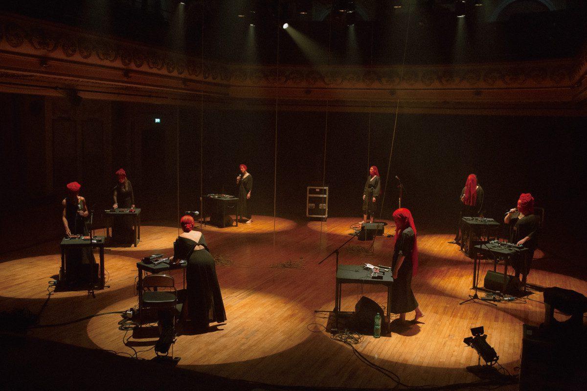 Techno-pagan pair Gazelle Twin & NYX present 'Deep England', a performance film by Iain Forsyth & Jane Pollard