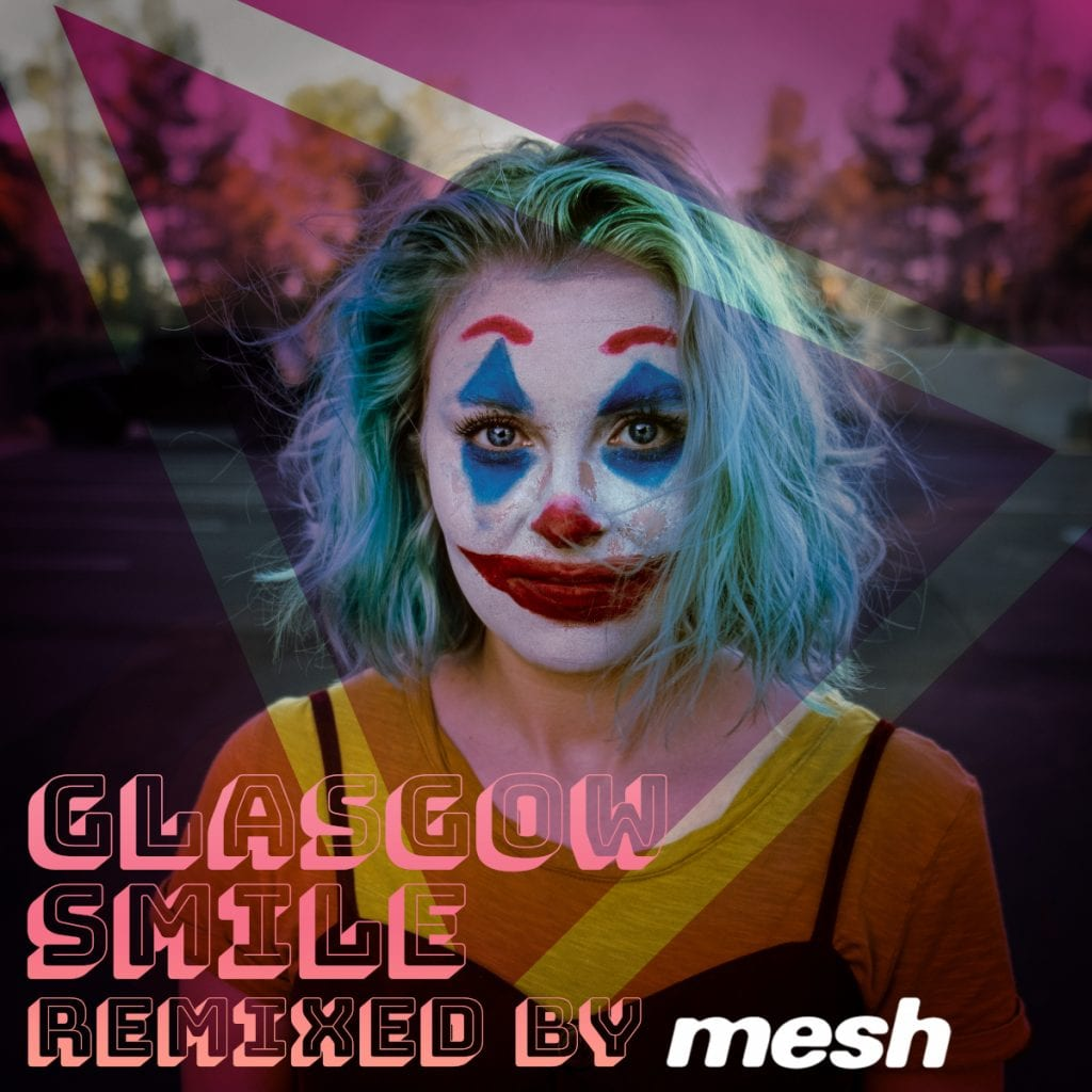Mesh-remix of latest Covered in Snow single'Glasgow Smile'