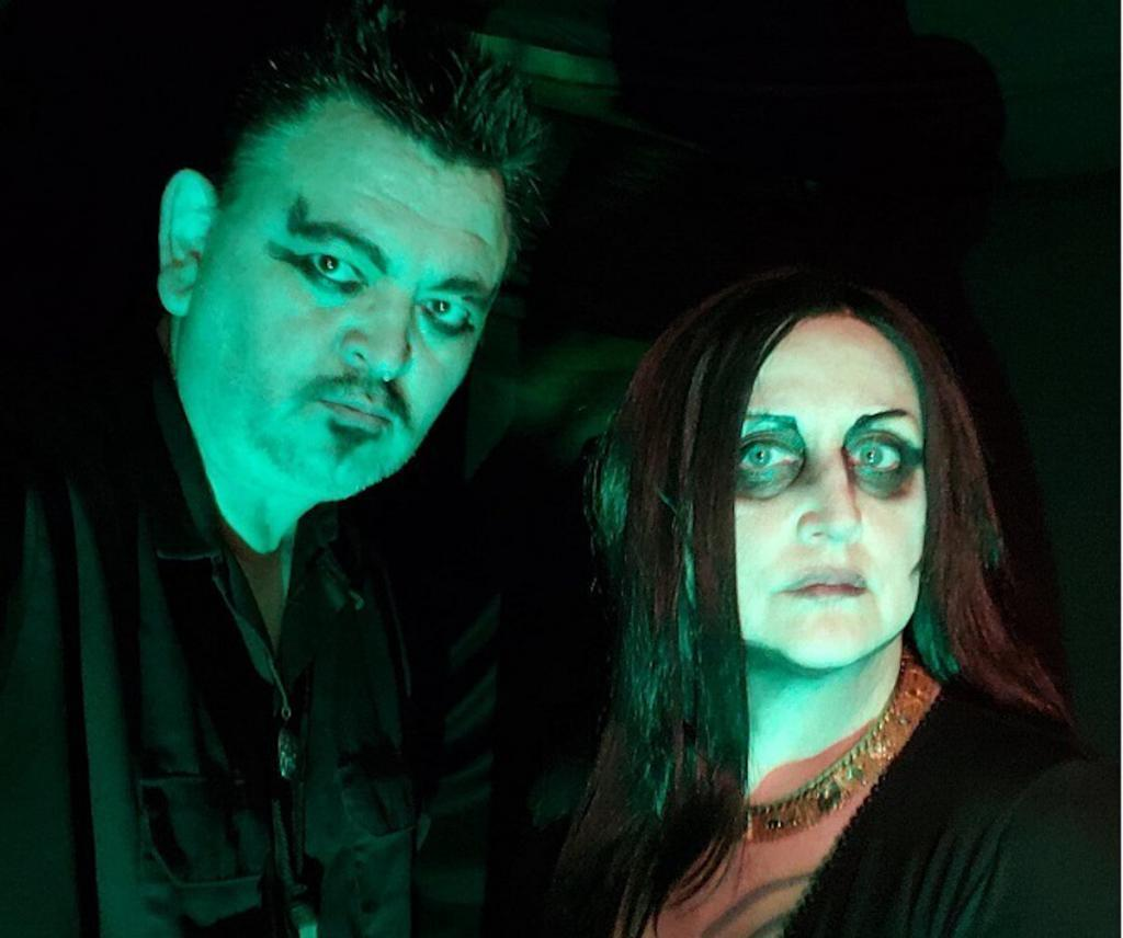 Alaskan dark punk/death rock duo Cliff And Ivy unleash new 4-song EP'Bring Us The Night'