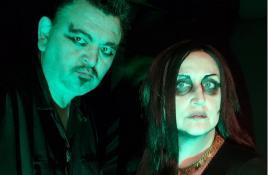 Alaskan dark punk/death rock duo Cliff And Ivy unleash new 4-song EP 'Bring Us The Night'