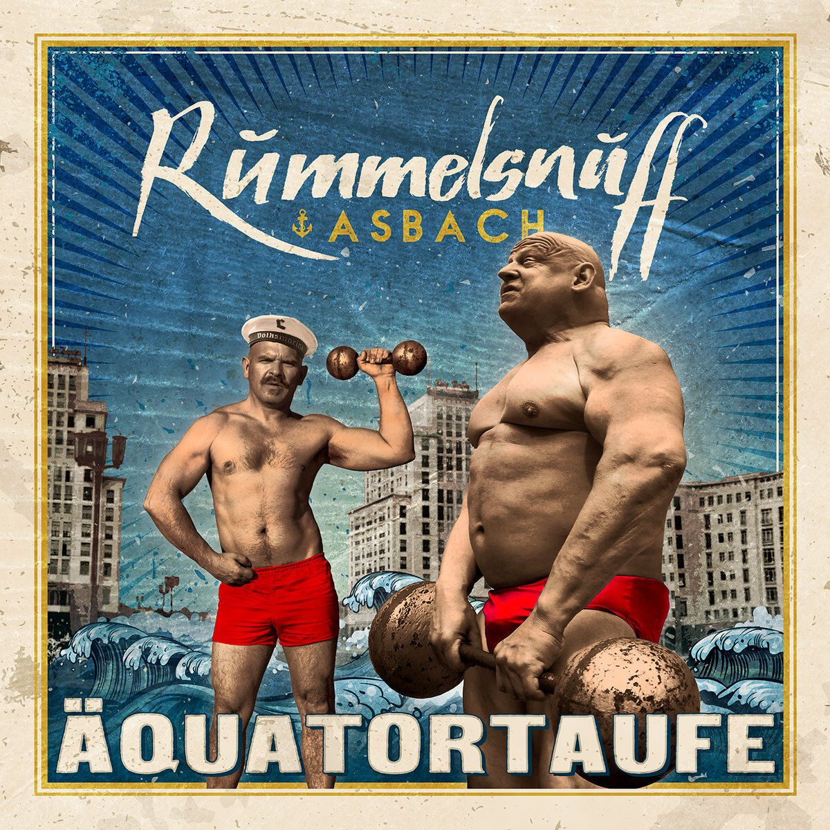Rummelsnuff & Asbach release new album 'Äquatortaufe' in 2 formats