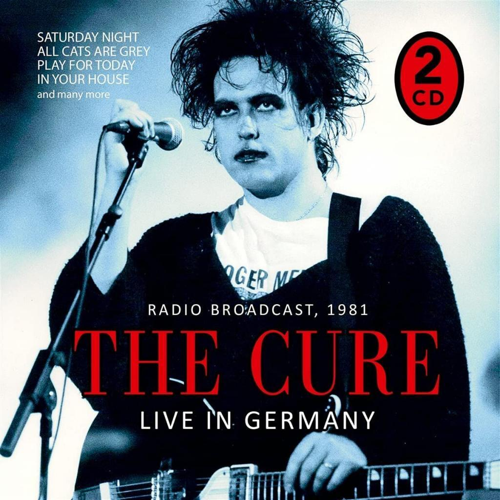 'The Cure - Radio Broadcast/Live in Germany 1981' 2CD bootleg gets widespread distribution