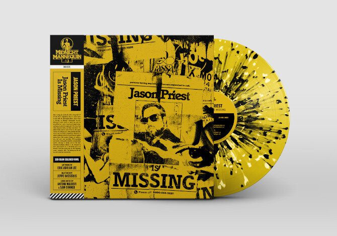 New wave/post-punk artist Jason Priest debuts with'Jason Priest Is Missing'