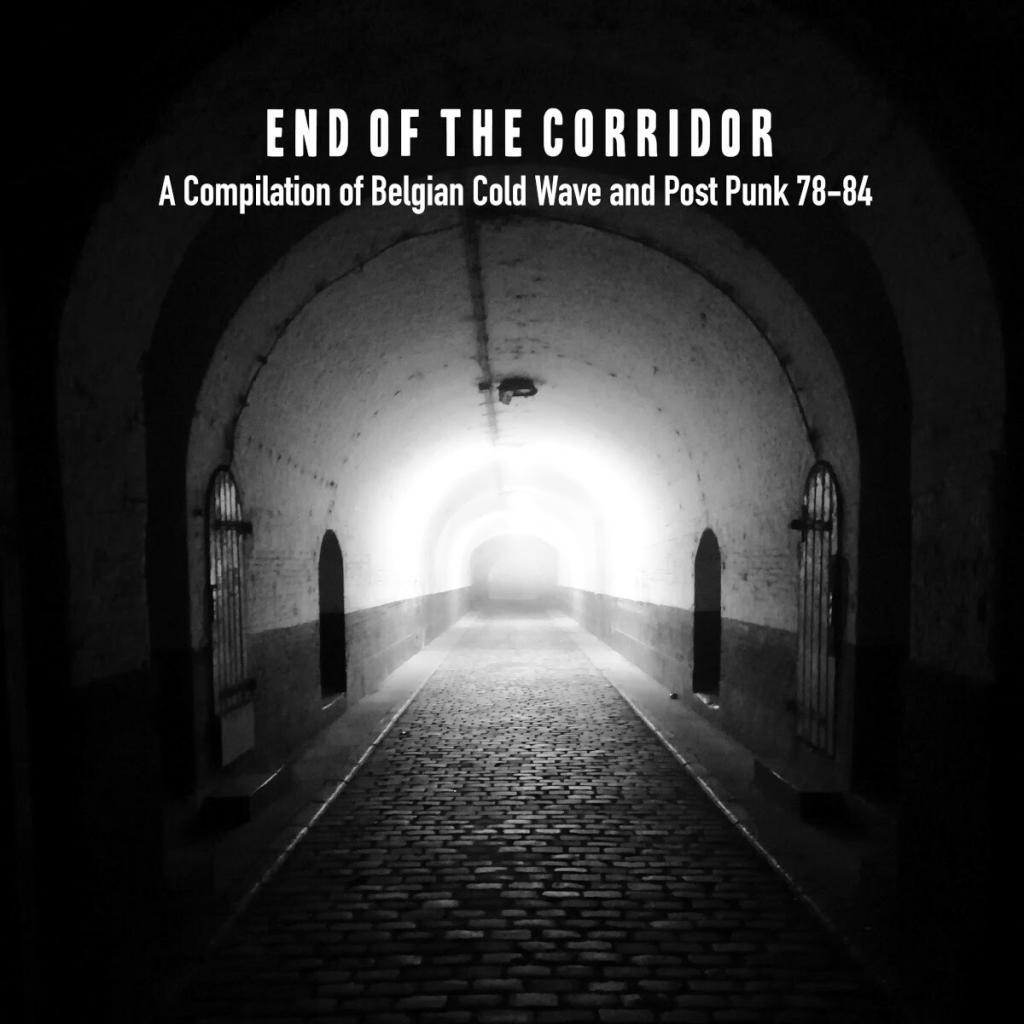 'End of Corridor' vinyl compilation of Belgian cold wave and post punk from 1978-84