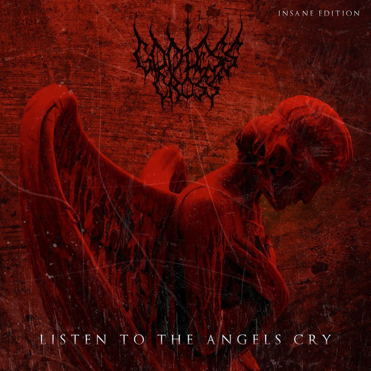 Godless Cross back with all new extended download EP: 'Listen To The Angels Cry (Insane Edition)