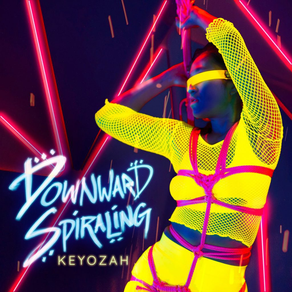 Bay area electropop act Keyozah returns with an all new video / single:'Downward Spiraling'