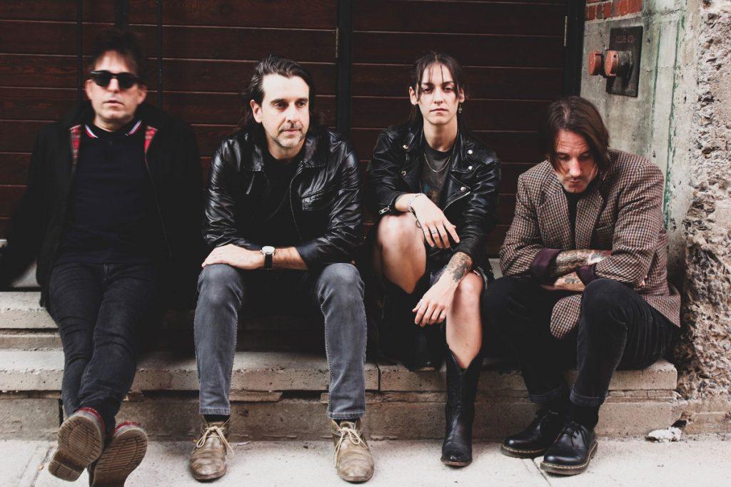 Montreal post-punk act Scene Noir releases'Telegraph' album on Velouria Recordz