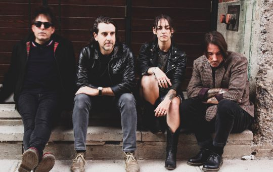 Montreal post-punk act Scene Noir releases 'Telegraph' album on Velouria Recordz